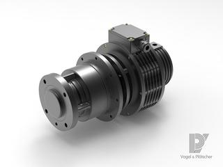 Pancake traction drive for low voltage applications Vogel & Plötscher